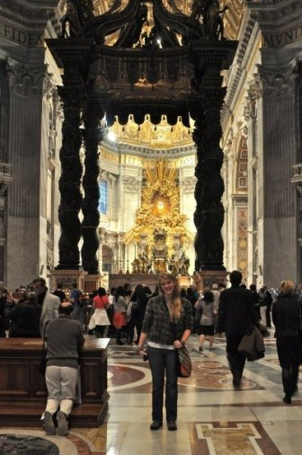 St. Peter's Basilica, Rome, Italy 2009