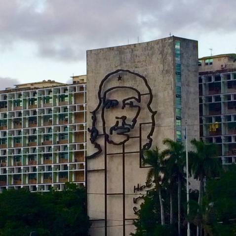Che Guevara memorialized