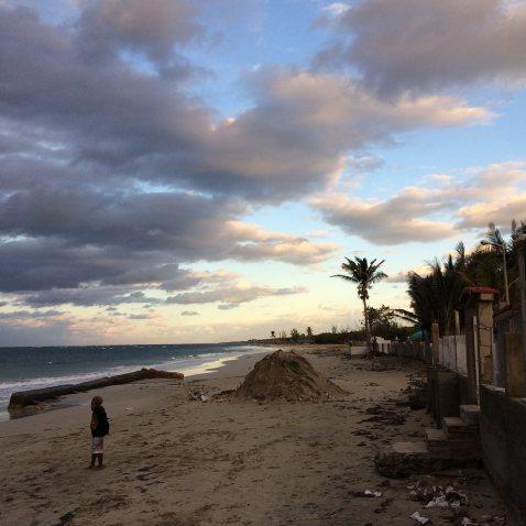 Beach outside of Havana