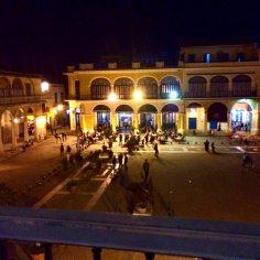 Overlooking Plaza Vieja