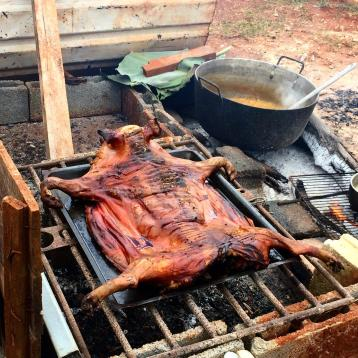Fresh pork and malanga